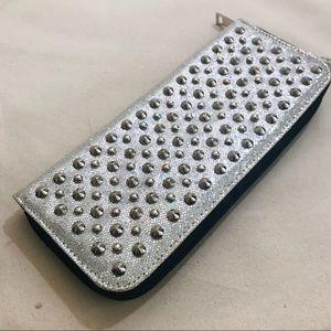 Handbags - NWOT Disco Ball Wristlet